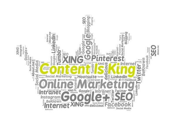 content is key to a website